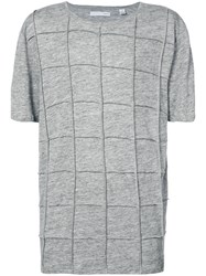 Private Stock The Isly Exposed Seam T Shirt Grey