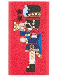Dolce And Gabbana Guard Patch Power Bank Red