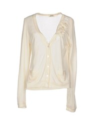 Molly Bracken Knitwear Cardigans Women Ivory