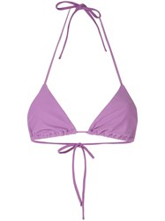 Matteau The String Bikini Top Purple