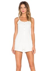 Evil Twin Fighting Fit Romper White