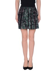Imperial Star Imperial Skirts Mini Skirts Women Green