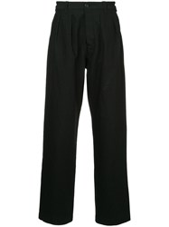 Kent And Curwen Wide Leg Trousers Black