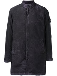 Stone Island Shadow Project Garment Dyed Tpx Coat Pink Purple