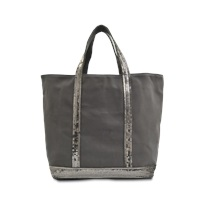 Vanessa Bruno Medium Sequined Canvas Tote