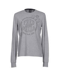 Fred Mello T Shirts Light Grey