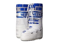Tecnica Moon Boot R2 D2 White Blue Silver Work Boots