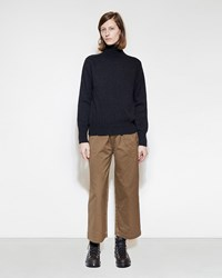 Mhl By Margaret Howell Wide Leg Crop Trousers Whiskey