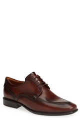 Ecco 'Cairo' Apron Toe Derby Men Walnut