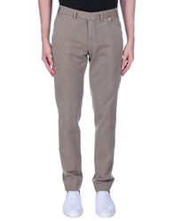 Santaniello And B. Casual Pants Light Brown