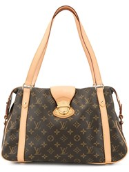 Louis Vuitton Vintage Stresa Pm Shoulder Bag Brown
