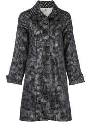 Peter Cohen Single Breasted Embroidered Coat 60