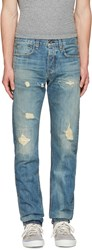 Rag And Bone Blue Standard Issue Fit 2 Jeans