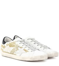 Golden Goose Superstar Leather Sneakers White