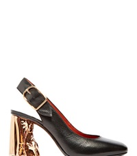 Acne Studios Odelia Palm Heeled Pumps Black