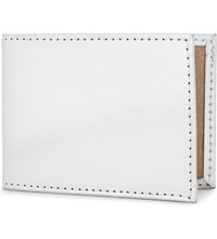 Undercover Mirrored Recycled Leather Travel Card Holder