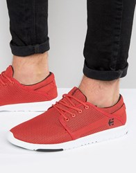 Etnies Scout Trainers Red