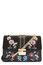 Topshop Darcy Floral Shoulder Bag Black Black Multi
