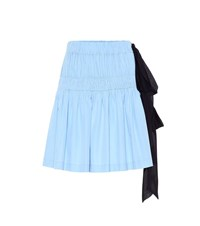 N 21 Cotton Skirt Blue