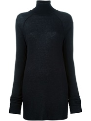 Haider Ackermann Turtle Neck Sweater Black