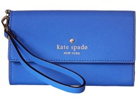 Kate Spade Cedar Street Phone 6 Wristlet Adventure Blue Cell Phone Case