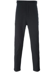 Journal Fine Knit Tapered Trousers Black