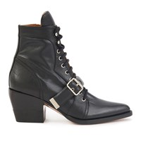 Chloe Rylee Ankle Boots Black