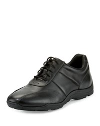 Cole Haan Hughes Casual Leather Sneaker Black