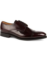 Barker Perth Leather Brogues Wine