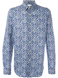 Paul Smith Casual Slim Fit Shirt Blue