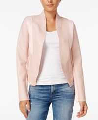 Guess Senay Faux Leather Jacket Pink
