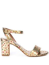 Tabitha Simmons Leticia Sandals Gold