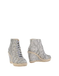 Guess Ankle Boots Light Grey