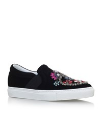 Lanvin Embellished Skater Shoes Female Black