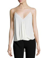 Theory Kashya Classic Georgette Camisole Off White