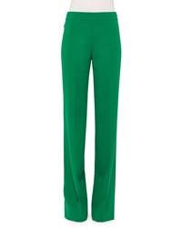 Akris Mid Rise Wide Leg Pants Bonsai