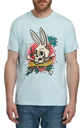 Psycho Bunny Graphic T Shirt Heather Grey