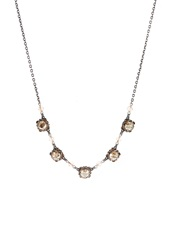 Konplott Necklace Beige Antiksilberfarben