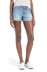 Junior Women's Jolt Denim Shorts Light Blue