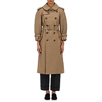 Commedesgarcons Commedesgarcons Women's Double Breasted Trench Coat Tan