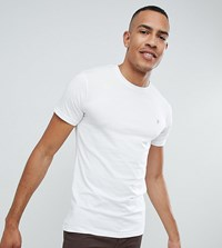 Farah Farris Slim Fit T Shirt With Stretch In White
