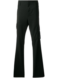 Lanvin Tailored Cargo Trousers Black