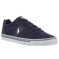 Ralph Lauren Polo Hanford Canvas Trainers Newport Navy