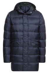 Michael Kors Collection Down Filled Jacket With Hood Blue