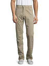 34 Heritage Solid Stretch Pants Stone Khaki
