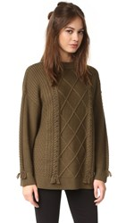 Veda Angler Sweater Rosemary