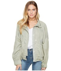 Free People Parachute Jacket Green Women's Coat