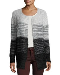 Elliatt Take Flight Fuzzy Cardigan Sweater Black