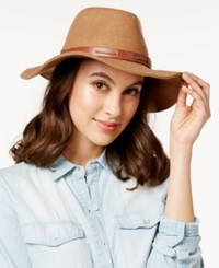 Inc International Concepts Belted Band Panama Hat Only At Macy's Camel