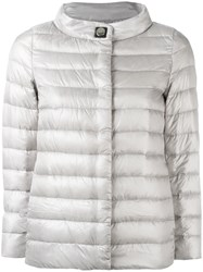 Herno Padded Jacket Grey